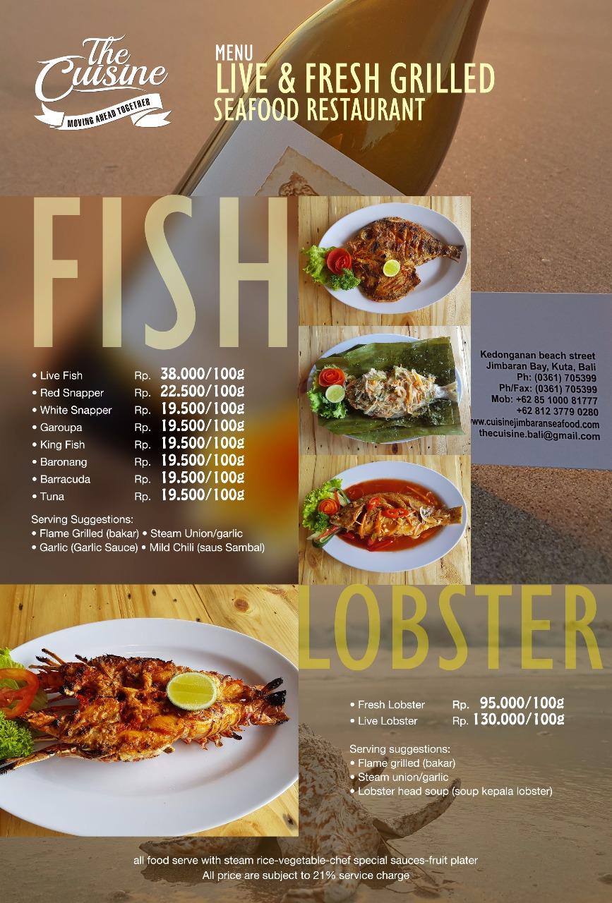 fish lobster