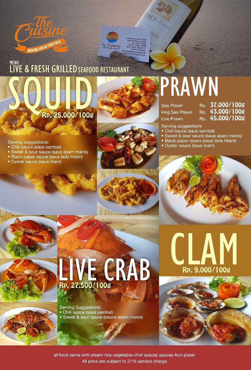 squid clam