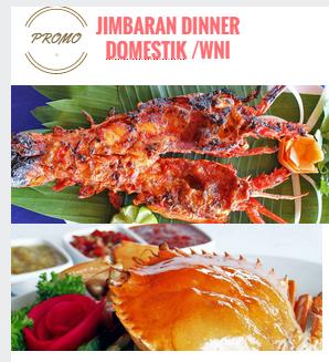 promo paket dinner makan malam jimbaran 2017 untuk domestik the cuisine restaurant jimbaran. Black Bedroom Furniture Sets. Home Design Ideas